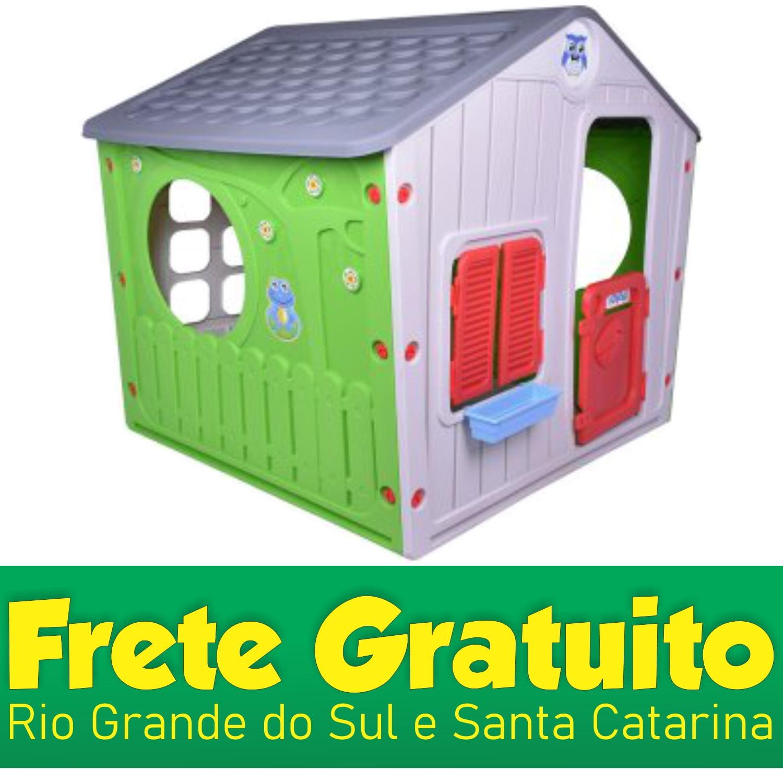 Casinha de Brinquedos Life Cinza