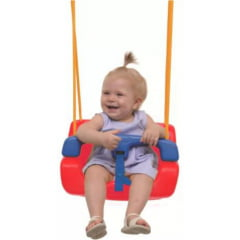 Balanço Infantil Vermelho