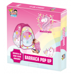 Barraquinha Pop Up Infantil Unicórnio