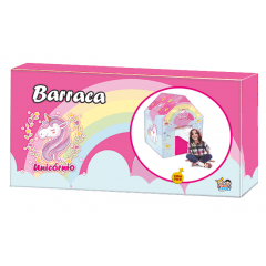 Casinha Barraca Infantil Unicórnios