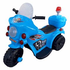 Mini Moto Elétrica 6v - Azul