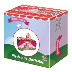 Piscina de Bolinhas Infantil Princesa com 100 bolinhas
