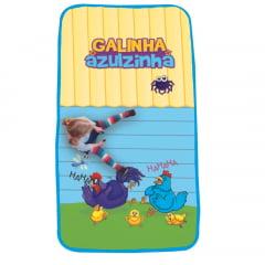 Tapete Infantil Galinha Azulzinha 1,33m x 0,69m