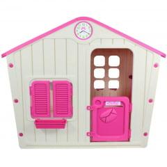 Casinha de Brinquedos Life Rosa