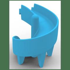Tobogã Espiral Azul