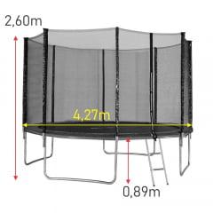 Cama Elástica 4,27m Slim