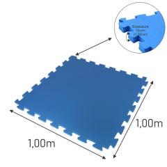 COMBO 10 TATAMES 1,00 x 1,00m - 10mm