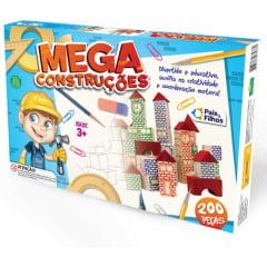 MEGA CONSTRUÇÕES 76 PEÇAS - MADEIRA