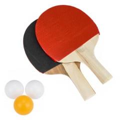 Raquete e Bolinhas PIng-Pong