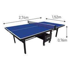 Mesa de Ping Pong Dobrável MDF 18mm (Paredão)