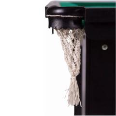 Mesa de Bilhar com Bolas Numeradas e Tacos de 1,35m - Cama Elástica RS