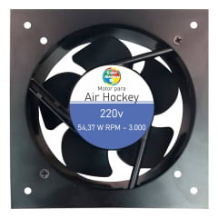 Motor cooler para Mesa de Aero Hockey / Air Game 220v