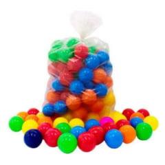 Piscina de Bolinhas Baby Plástica - Lavável com 250 Bolinhas