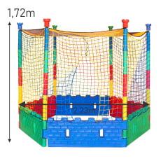 Piscina de Bolinhas Plástica -  Lavável 2,23m X 2,23m Com 1500 Bolinhas