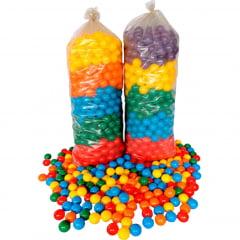 Piscina de Bolinhas Plástica - Lavável 1,19m X 1,19m com 1000 bolinhas + 1 Tatame