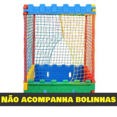 PISCINA DE BOLINHAS CASTELINHO 1,19m x 1,19m - Lavável Sem bolinhas